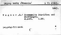 Gesammelte Schriften und Dichtungen                         (1. Band)