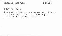 Uvedení do Smetanovy slavnostní zpěvohry Libuše
