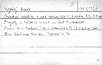 Prodaná nevěsta v nové reprodukci O. Ostrčila, K. H. Hilara, F. Kysely