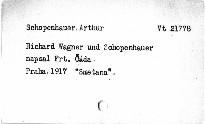 Richard Wagner a Schopenhauer