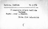 O komorních dílech Bedřicha Smetany