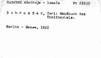 Handbuch des Violinspiels