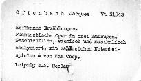 Jacques Offenbach: Hoffmanns Erzählungen