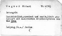 Richard Wagner's  Lohengrin