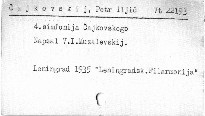 4. symfonija Čajkovskogo