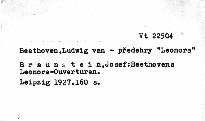 Beethovens Leonore-Ouvertüren
