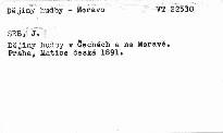 Dějiny hudby v Čechách a na Moravě