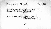 Richard Wagner a jeho dílo u nás
