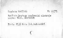 Bedřich Smetana poslouchá nástroje