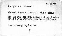 Richard Wagners theatralische Sendung