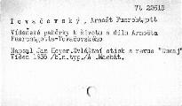 Vídeňské paběrky k životu a dílu Arnošta Förchtgotta-Tovačovského