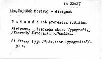 Padesát let profesora V. B. Aima