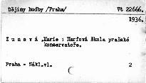 Harfová škola pražské konzervatoře