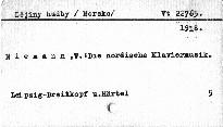 Die nordische Klaviermusik