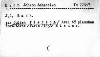 J.S.Bach avec 48 planches hors-texte