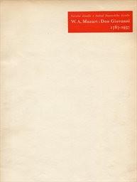 W. A. Mozart: Don Giovanni, 1787-1937