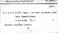Opis i poviest narodnih glasbala jugoslovjena                         (1)