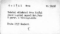 Hudební skladatel Erno Košťál