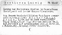 Ludwig van Beethoven's Studien im Generalbass, Contrapunkt und in der Compositionslehre