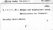 Gesammelte Schriften                         (2. Band)