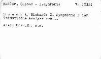 Gustav Mahlers I. Symphonie D dur