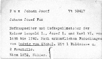Johann Josef Fux