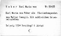 Karl Maria von Weber als Klavierkomponist
