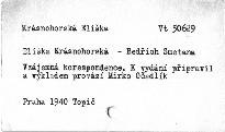 Eliška Krásnohorská - Bedřich Smetana