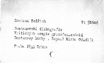 Smetanovská diskografie