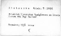 Friedrich Nietzsches Randglossen zu Bizets Carmen