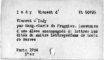 Vincent d'Indy