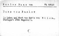 Hans von Buelow