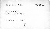 Wilhelm Mauke