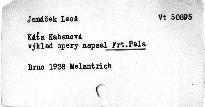 Janáček: Káťa Kabanová