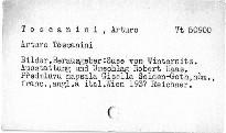 Arturo Toscanini: Bilder