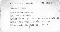 Zdeněk Fibich mistr české balady