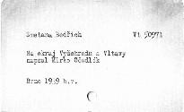 """Na okraj """"Vyšehradu a Vltavy"""""""