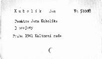 Památce Jana Kubelíka