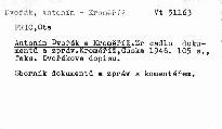 Antonín Dvořák a Kroměříž