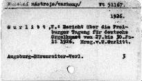 Bericht über die Freiburger Tagung für Deutsche