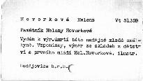 Památník Heleny Hovorkové