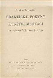 Praktické pokyny k instrumentaci symfonického orchestru
