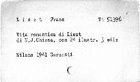 Vita romantica di Liszt