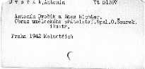 Antonín Dvořák a Hans Richter