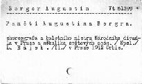 Paměti Augustina Bergra, choreografa a baletního mistra Národního divadla v Praze a několika světových scén