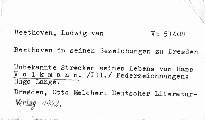 Beethoven in seinen Beziehungen zu Dresden