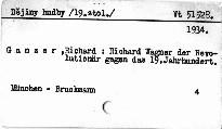 Richard Wagner, der Revolutionär gegen das 19. Jah