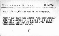 Das Stift St.Florian und Anton Bruckner