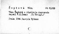 Věra Řepková o klavírním doprovodu