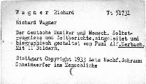 Richard Wagner der deutsche Musiker und Mensch